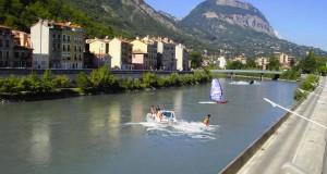Grenoble : Une école de ski nautique va voir le jour.