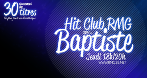 Hit Club RMG – Jeudi 08 janvier