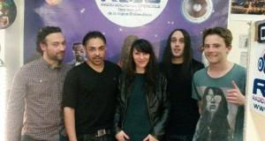 25/03/2015 : Nicos et Céline ont reçu le groupe DIrt'EZ